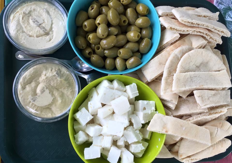 04/07/16- 15/07/16- Greece Week. We tried some Greek food