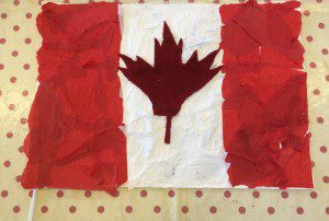 canafa-week-mixed-media-flag